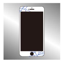 アイフォン ガラス割れ修理