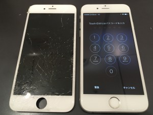 iphone6 screen broken 191001