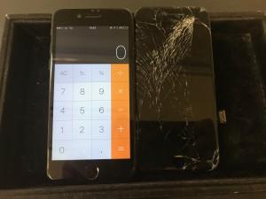 iPhone7の液晶交換修理