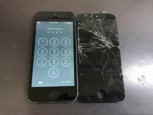 iPhone5 画面破損