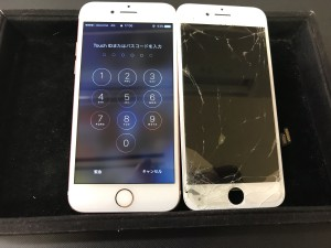 iPhone7 ヒビ割れ修理