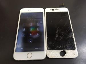 iphone6,画面割れ
