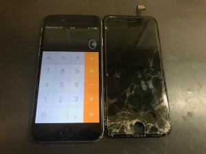 iPhone6 画面ひび割れ