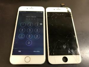 iPhone6 ガラス+液晶