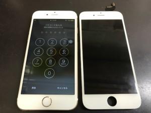 iPhone6S 液晶表示不良