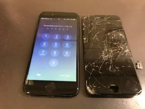 iPhone7 タッチ不能
