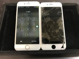 iPhone6s パネル破損修理