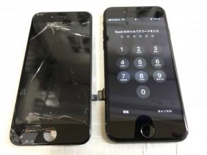 iPhone7パネル故障