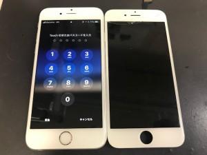 iPhoneひび割れ
