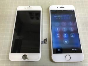 iPhone7 画面故障
