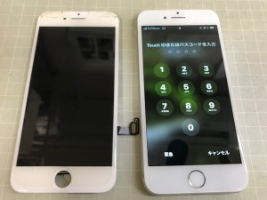 iPhone7 タッチ不可