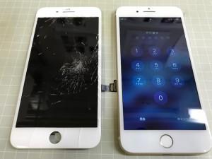 iPhone7 液晶割れ
