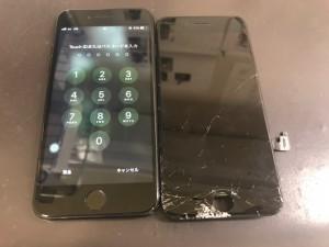 iPhone8 画面破損