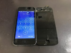 iPhone5 液晶修理
