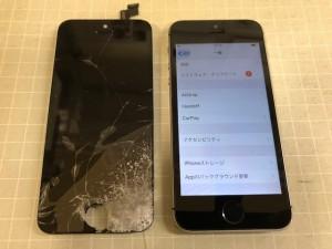 iPhoneSE 液晶表示不能