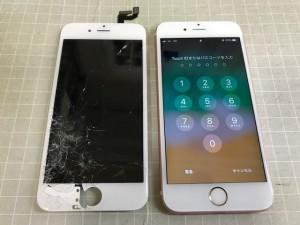 iPhone6S パネル重度破損