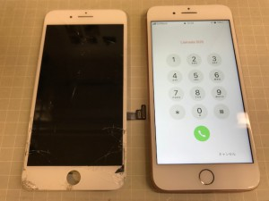 iPhone8+ タッチ不能