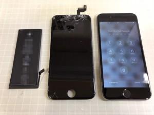 iPhone6S 画面+電池