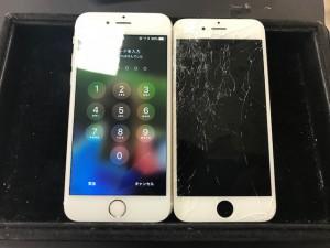 アイフォン6s 画面割れ