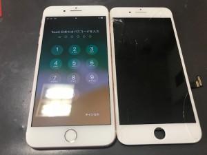 iPhone8+ 画面修理