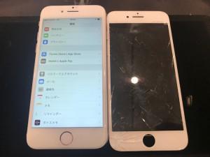 iPhone7+ 画面修理