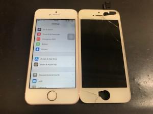 iPhoneSE 画面破損