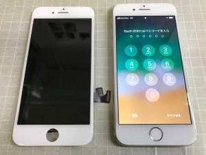 iPhone8 液晶表示故障