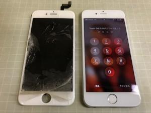 IPHONE6S 重度破損