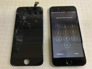 iPhone6 タッチ不能
