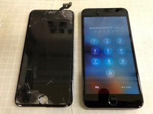 Iphone6S+ 重度破損