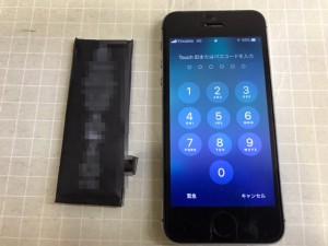 IPHONE5S 電池交換