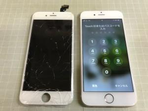 iphone6 タッチ不可190921