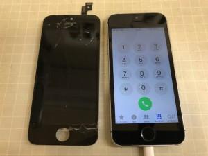 iphoneSE 表示ブレ