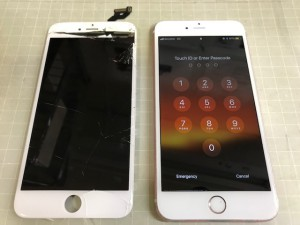Iphone6S+ パネル割れ190924