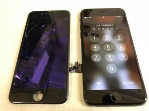 Iphone8 重度割れ