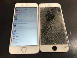 iPhone7 画面破損