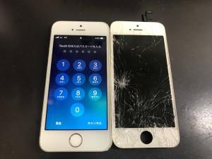 アイフォンSE 画面破損