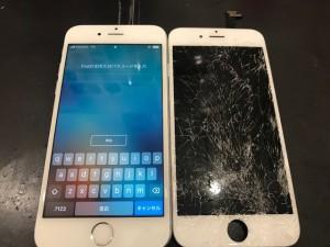 Iphone6 がめん割れ