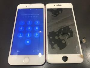 iPhone8 画面修理