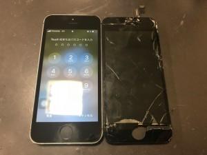 IphoneSE 液晶修理