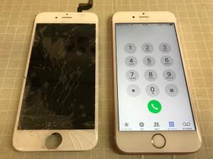 アイフォン6S 液晶破損 191112 191026