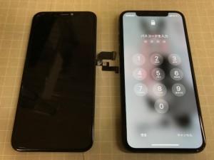 iPhoneX タッチ故障