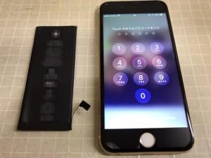 IPHONE6S 電源投入不能 191109