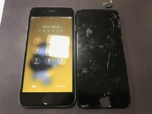 iPhone6S 画面割れ 191203