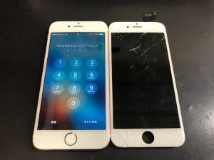 アイフォン6S 画面修理 191121
