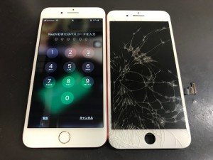 IPHONE7+ 画面修理 191107