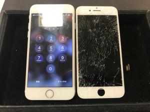 iPhone7 ガラス液晶修理 191106