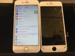 iPhone7plus 画面修理 191104