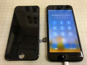iphone7+ 表示不良