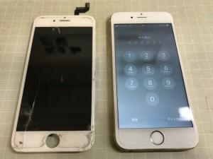 Iphone6S 液晶破損